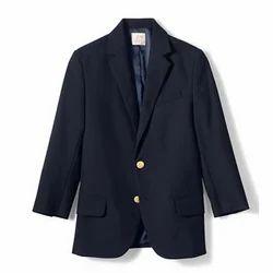 Navy Blue Woollen School Uniform Blazer