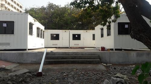 FRP,Mild Steel Prefabricated Guest House, Thickness: 10-20 Mm