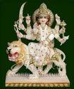 Marble Durga ji Statue