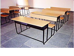 Institutional Desk and Bench