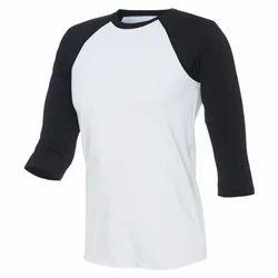 Black, White Baseball T-shirt