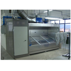 Manual Dry Spray Paint Booth