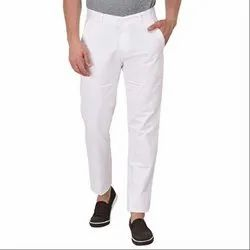 Cotton Flat Trousers Casual wear Trouser for Men