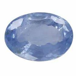 Beautiful Fancy Light Blue Oval - Cut Natural Ceylon Blue Sapphire