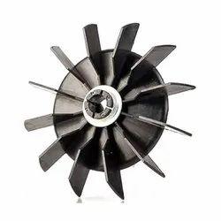 Plastic Black AC Motor Fan Blade