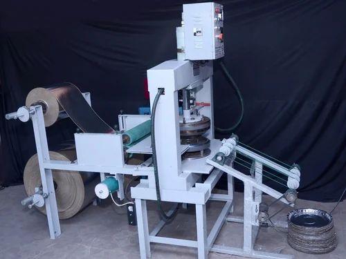 Paper Plate Press Machine Power Consumption  2 Hp & Paper Plate Press Machine Power Consumption : 2 Hp Rs 135000 ...