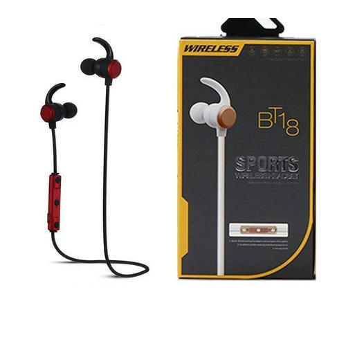 40e052e396c Black BT18 Sports Wireless Bluetooth Headset, Rs 400 /piece   ID ...