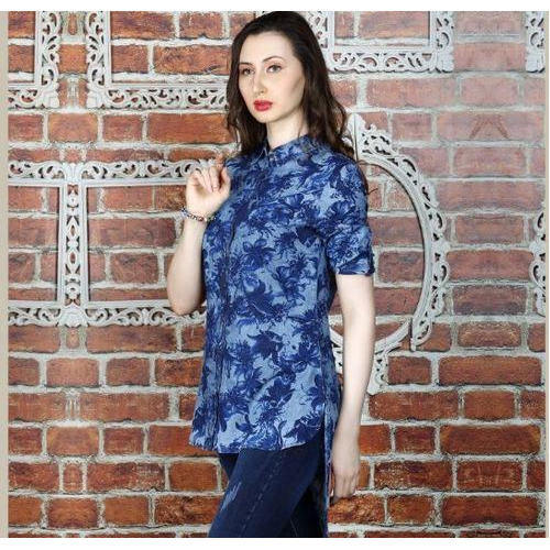 17c0244112297 Ladies Cotton Printed Designer Top, Rs 300 /piece, Henny Clothing Co ...