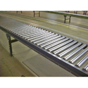 Semi-automatic Stainless Steel Gravity Roller Conveyor, Capacity: 1-50 Kg Per Feet