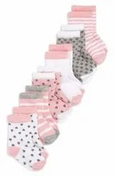 Unisex Plain BABY SOCKS