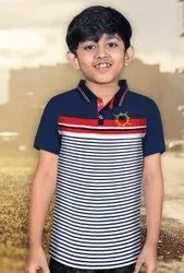 Kids Fancy Polo T.Shirt