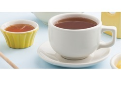 Ceramic Hotel Ware Cup and Saucer