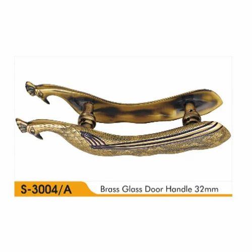 Sre Brass Antique Glass Door Handle Rs 3380 Piece Shree Raj