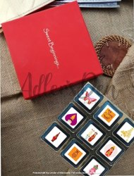 Customized Printed Wedding Chocolates Invitation Box