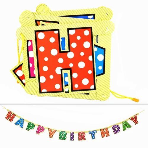 Happy Birthday Polka Dot Banner