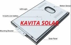 Solar Street Light With Lithium Ion Battery