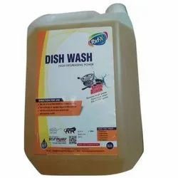 Rid-Xpert 5 Litre Liquid Dish Wash, Packaging Type: Plastic Can