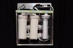 SSRO SS & FRP 25 LPH RO Alkaline Purification System