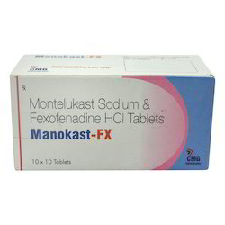 Montelukast Sodium And Fexofenadine HCI Tablets