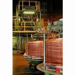 Vertical Continuous Copper Casting Machine