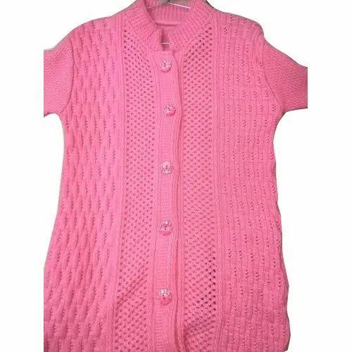 9ca4ab5a85d6 Baby Soft Yarn Party Wear Designer Ladies Cardigan