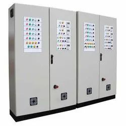 Rushvitha Enterprises Mild Steel Electric Control Panel Cabinet, IP Rating: IP44