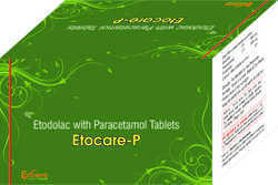 Etodolac With Paracetamol Tablets
