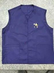 Cotton Plain Regular/ Hotel Vest Coat