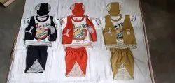 Casual Wear Kids Dress Boys Fancy Baba Suit, Small