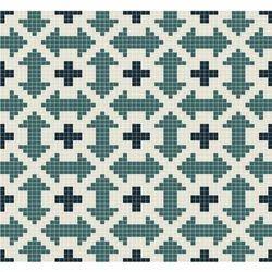 Printed Design Glass Mosaics