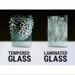 Transparent Toughened Safety Glass, For Window and partition, Thickness: 11 Mm