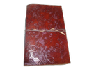 Embossed Handmade Genuine Leather Diary