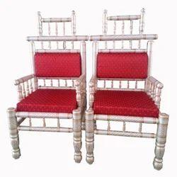 Decornt Red Sankheda Chair