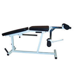 Gamma Fitness Leg Curl Extension Bench