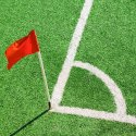 SAS PVC Folding Corner Flag with Socketed Spring and Spike