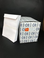 Super-x Paper White Laminated Office Envelopes