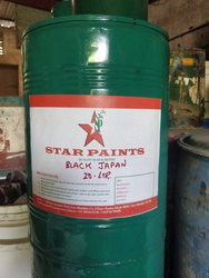 Anti Corrosive Black Japan Paint