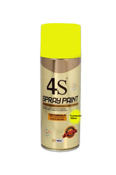4S Yellow-43 Fluorescent Spray Paint