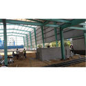 Green Water Proof Factory Structure Shed