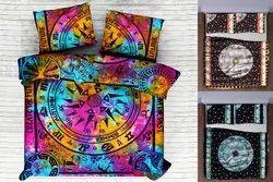 Cotton Astrology Mandala Printed Duvet Cover
