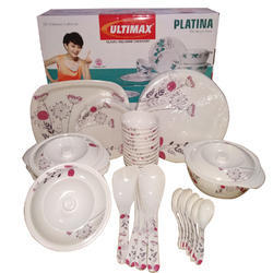Platina Melamine Dinner Set