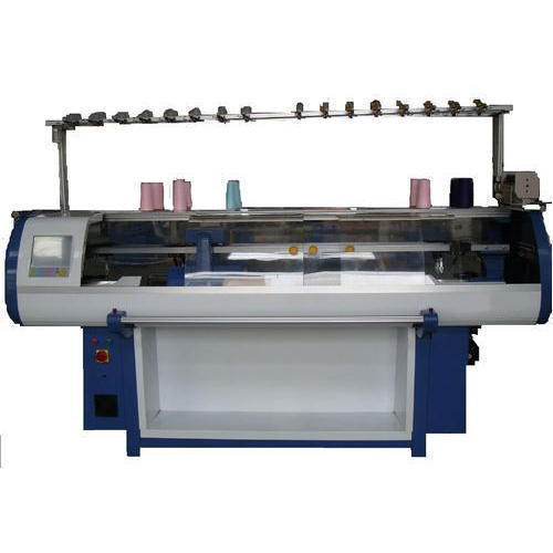 Semi Automatic Flat Bed Knitting Machine Rs 1060000 Unit S B