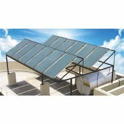 Flat Plate Type Solar Water Heater