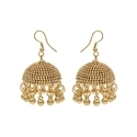 Indian Wedding or Party Gold Plated Jhumka