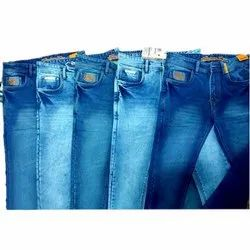 Denim Casual Wear Regular Fit Party Wear Stretchable Men Jeans, Packaging Type: Poly Bag