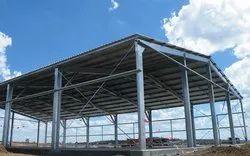 Steel Industrial Pre Engineered Building
