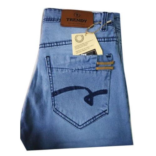 Mens Cotton Casual Wear Jeans