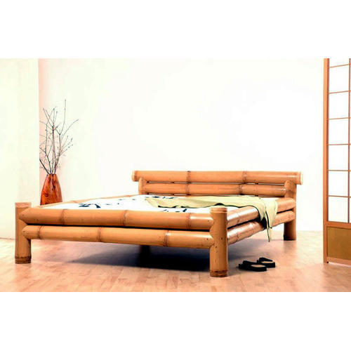 Bamboo Furniture Design Small Brown Designer Bamboo Bed For Home Indiamart Brown Designer Bamboo Bed For Home Rs 5000 piece Sagar Trading