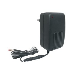 Black Plastic Single Voltage Adaptor 500MA