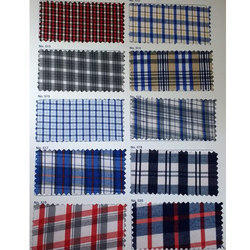 Checked Uniform Fabric